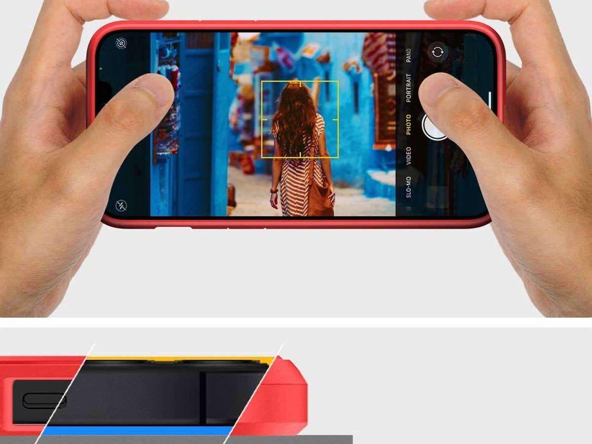 Etui Spigen Ultra Hybrid do Apple iPhone 12 Mini 5.4 Red - 5