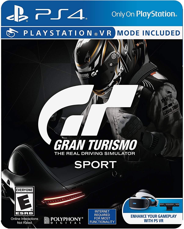 PS4 GRAN TURISMO SPORT STEEL CASE EDITION ALL - 1
