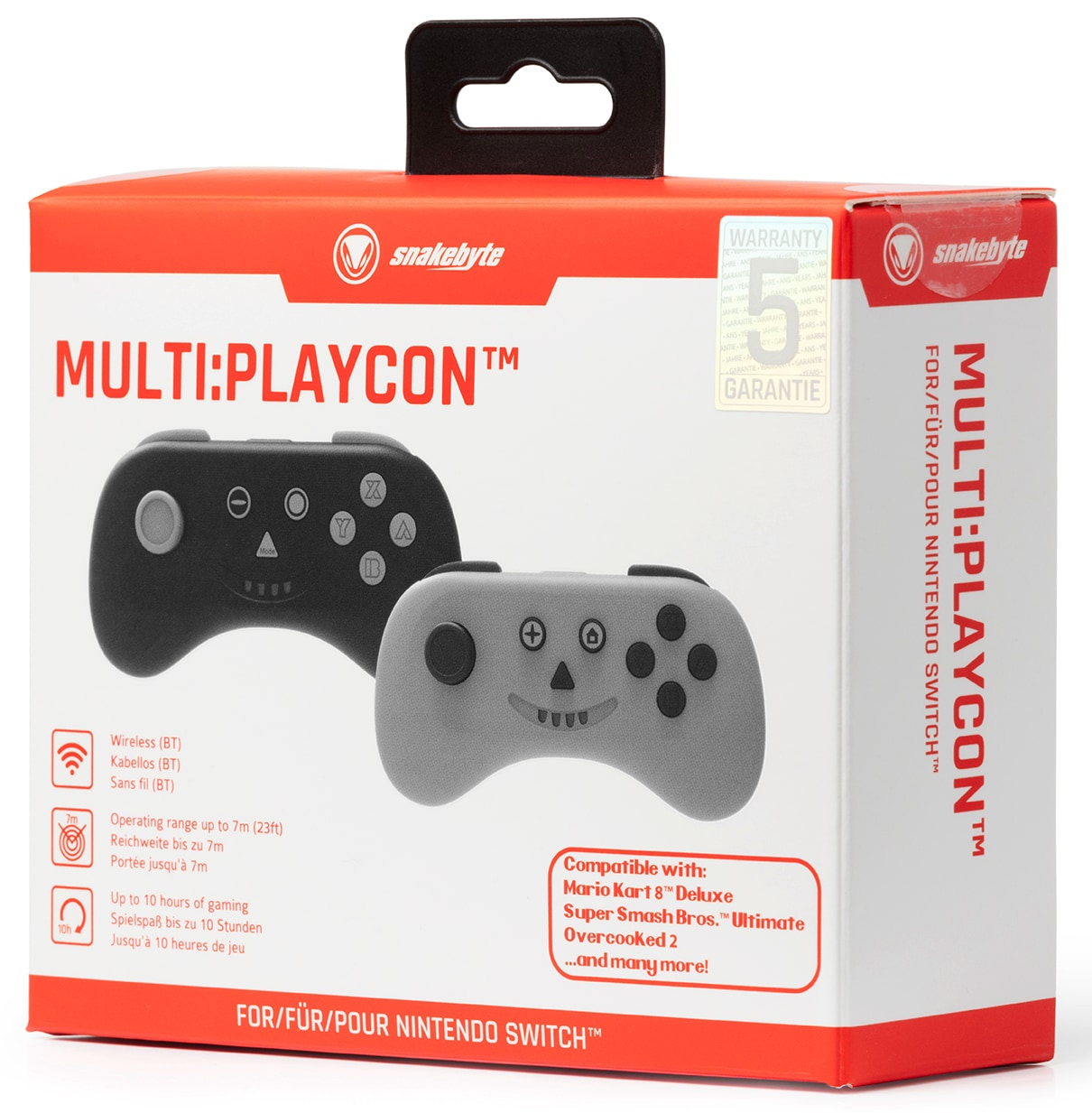 snakebyte kontroler MULTI: PLAYCON ™ (SWITCH ™ I SWITCH LITE ™) Gray - 5