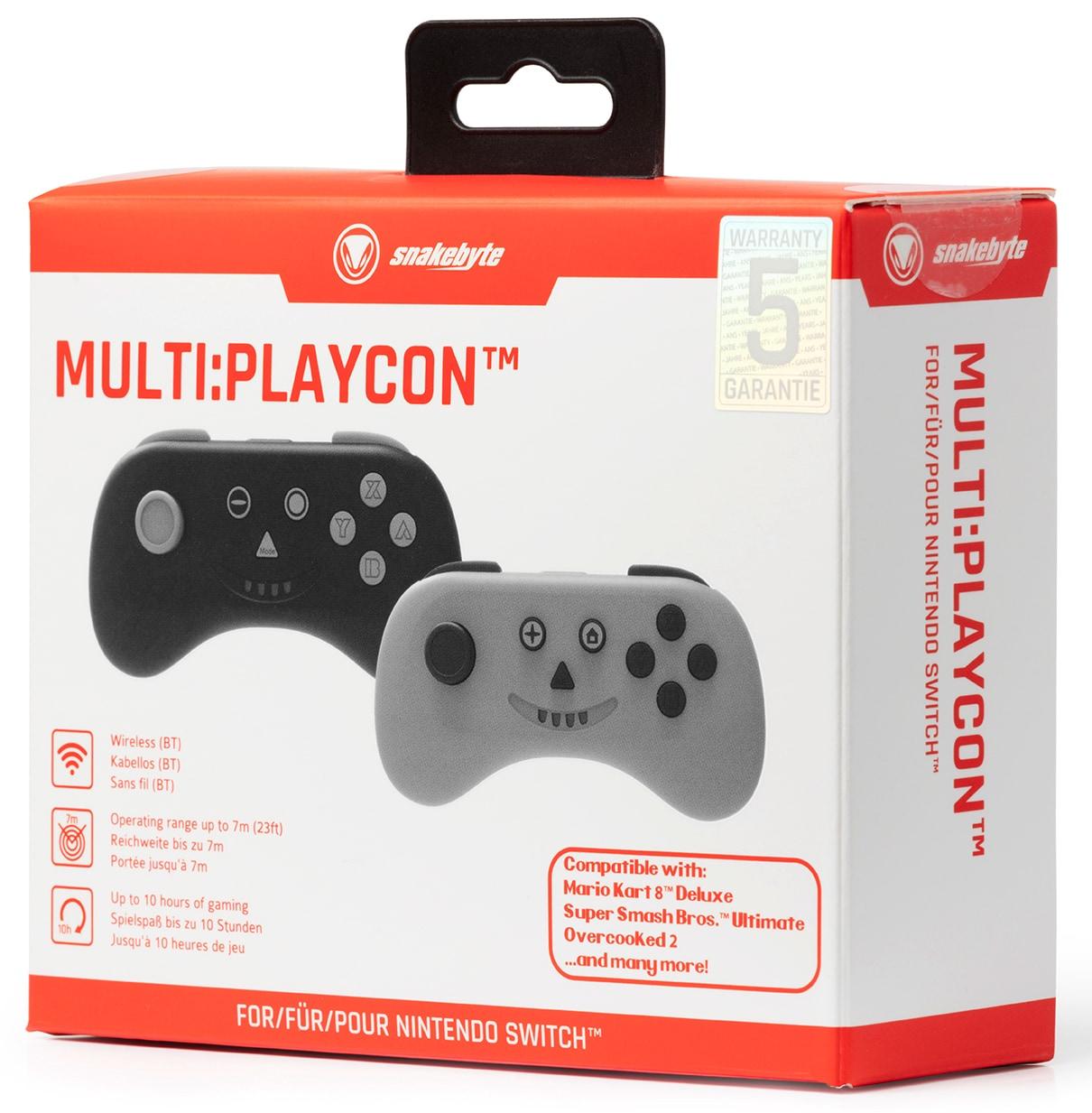 snakebyte kontroler MULTI: PLAYCON ™ (SWITCH ™ I SWITCH LITE ™) Orange - 5