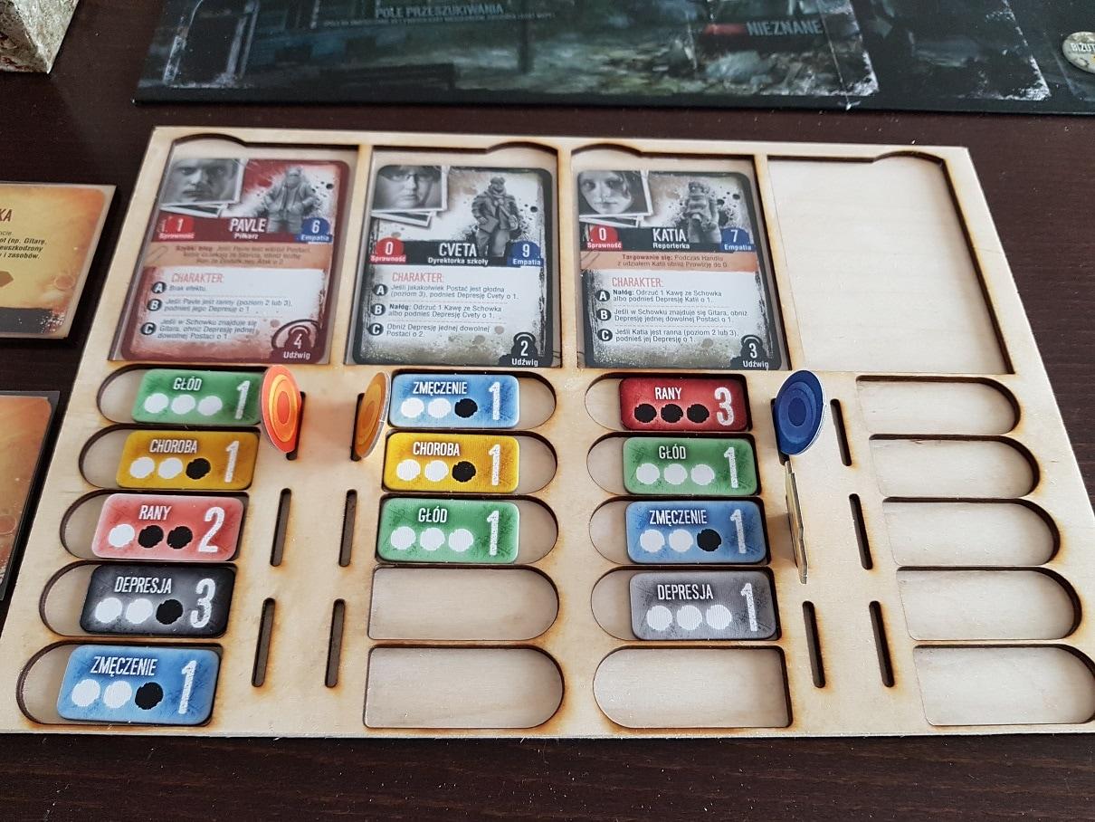 Podstawka do gry panel gracza This War of Mine - 1