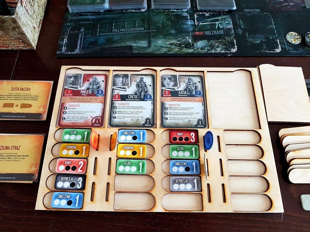 Podstawka do gry panel gracza This War of Mine - 2
