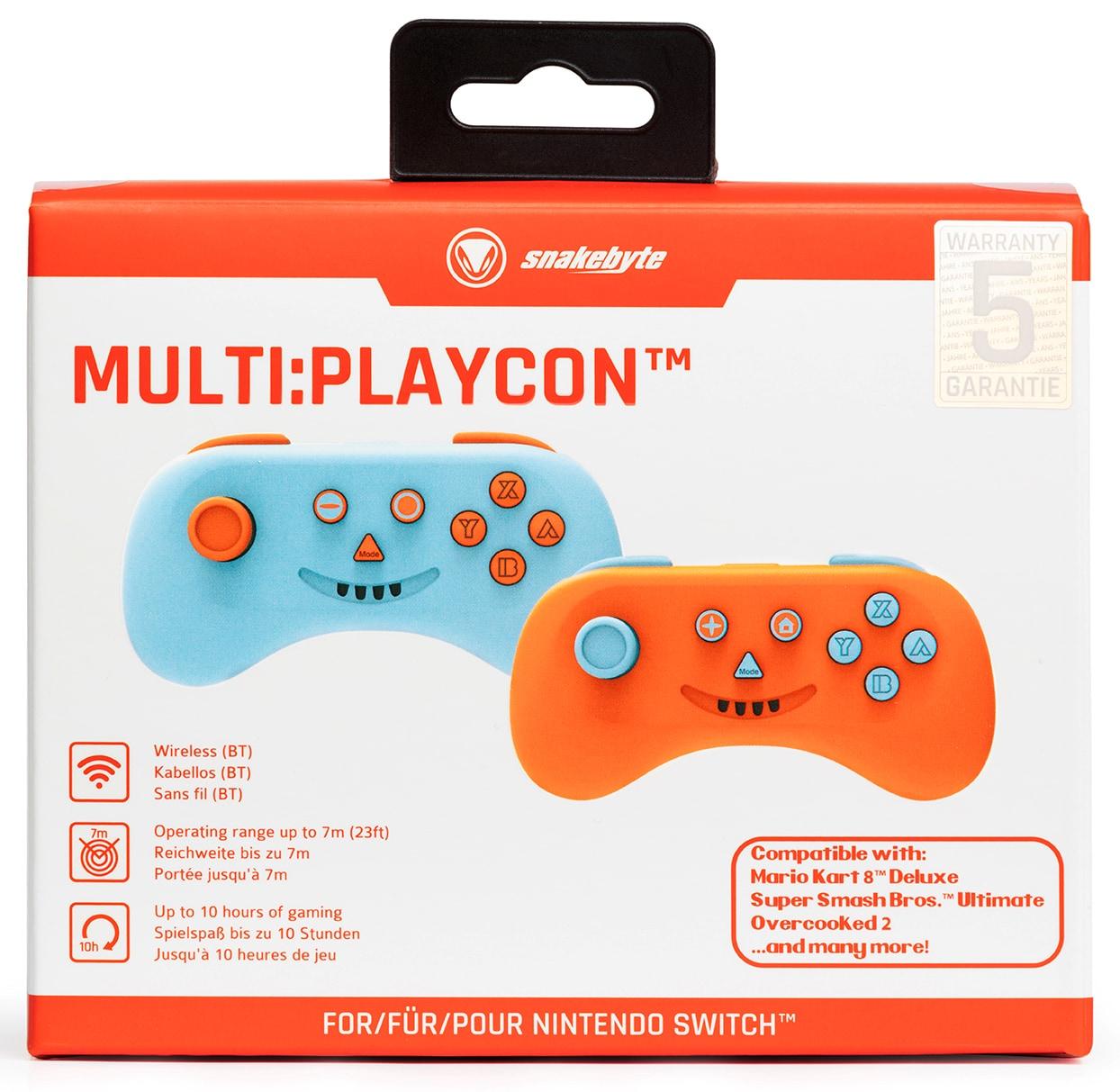 snakebyte kontroler MULTI: PLAYCON ™ (SWITCH ™ I SWITCH LITE ™) Orange - 8
