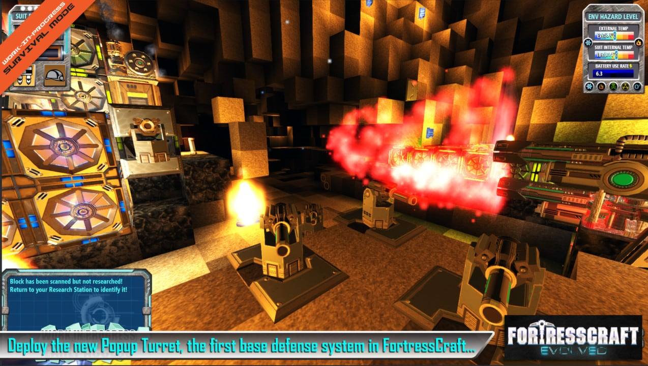 FortressCraft Evolved! Steam Key GLOBAL - 3