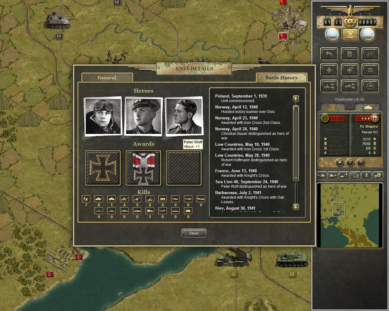 Panzer Corps Steam Key GLOBAL - 3