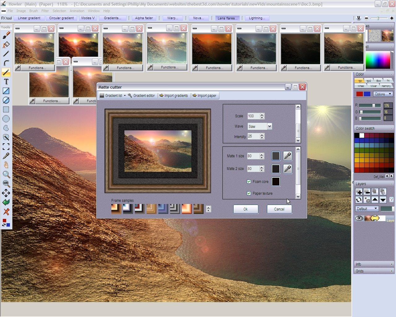 PD Howler 9.6 Digital Painter and Visual FX box Steam Key GLOBAL - 3