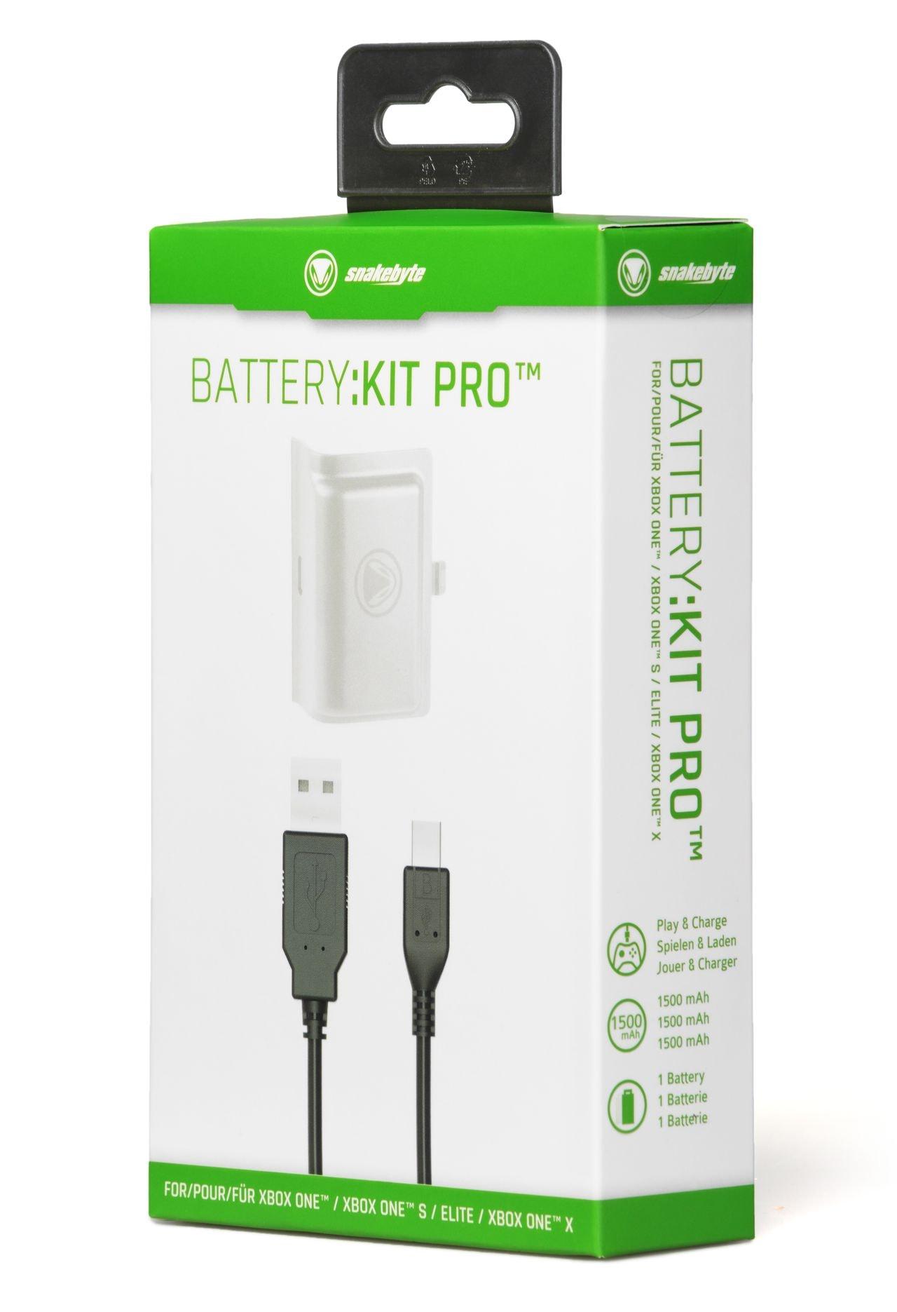 snakebyte akumulator do kontrolera XBOX ONE 1500 mAh biały BATTERY:KIT PRO - 3