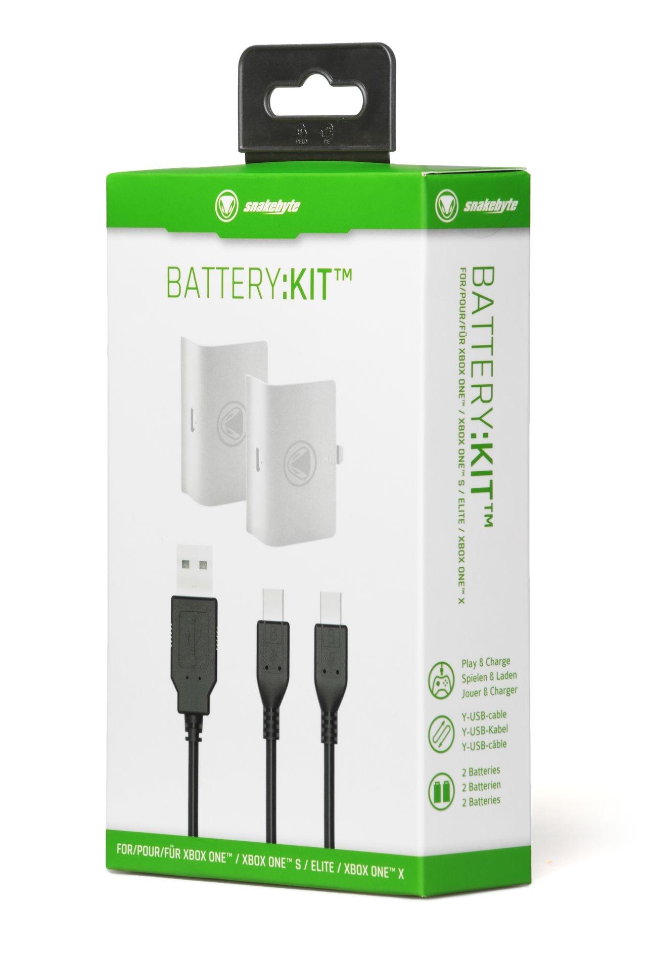 snakebyte zestaw akumulatorów do Xbox ONE BATTERY: KIT ™ (XBOX ONE) White - 3