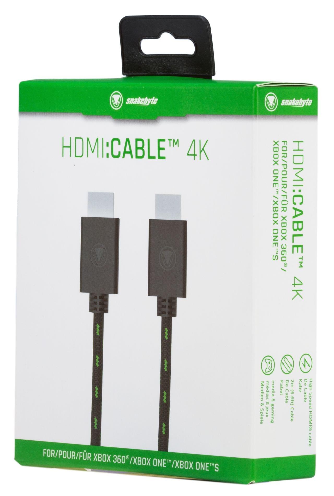 snakebyte kabel HDMI - HDMI 4K 2m mesh - 2