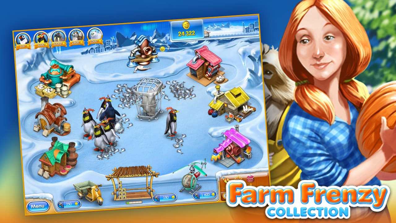 Farm Frenzy Collection Steam Gift EUROPE - 2