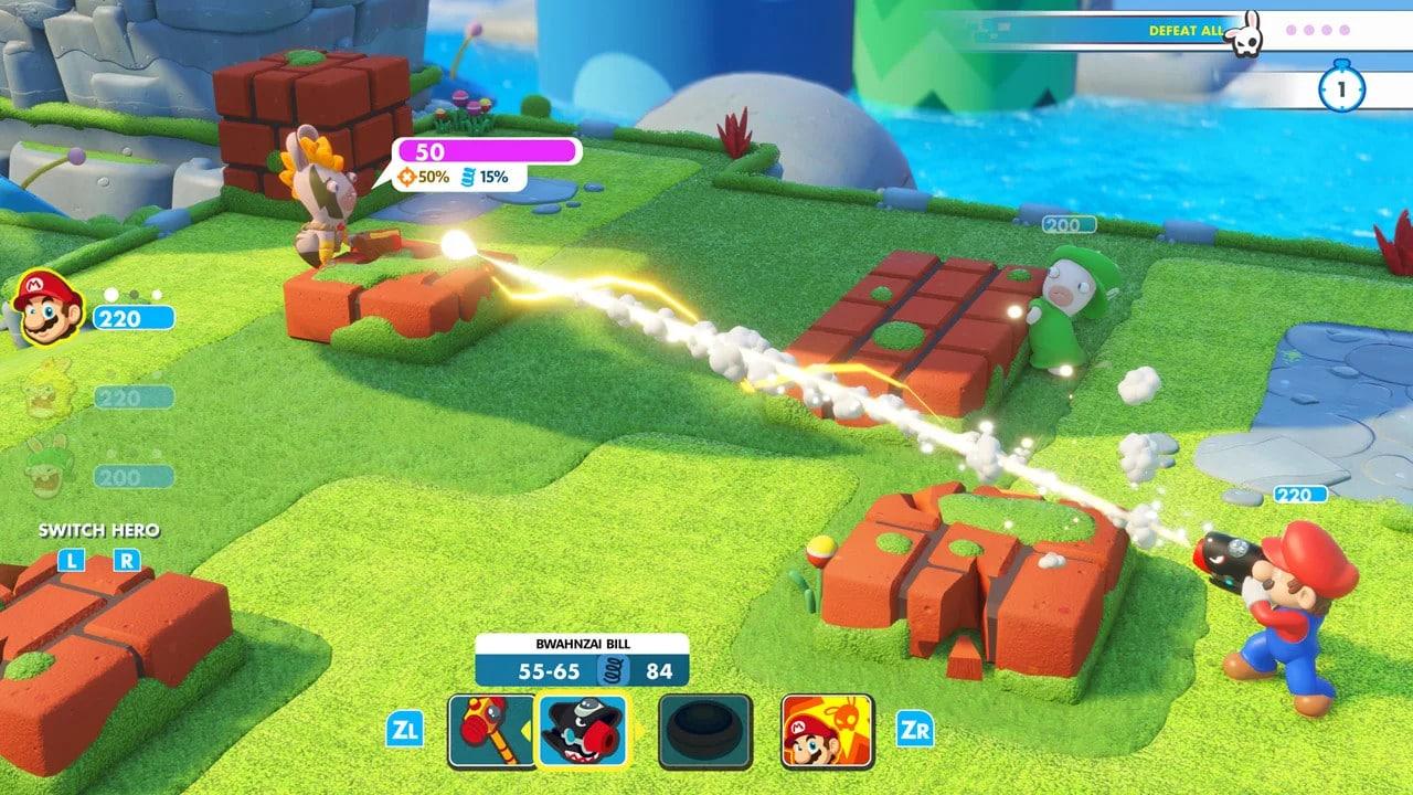 Mario + Rabbids Kingdom Battle (Nintendo Switch) - Nintendo Key - EUROPE - 3