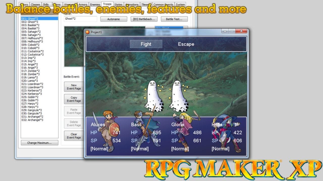 RPG Maker XP Steam Key GLOBAL - 4