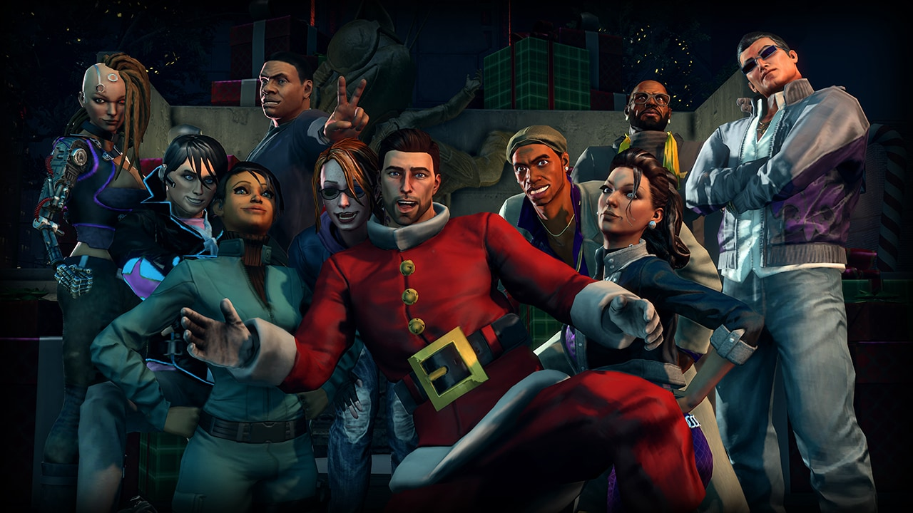 Saints Row IV - How the Saints Save Christmas Steam Key GLOBAL - 2