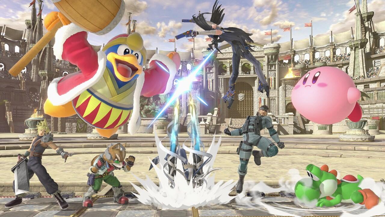 Super Smash Bros. Ultimate Nintendo Switch Nintendo Key NORTH AMERICA - 3
