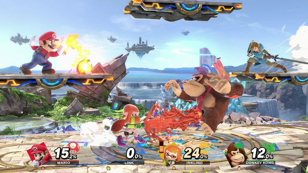 Super Smash Bros. Ultimate Nintendo Switch Nintendo Key NORTH AMERICA - 4