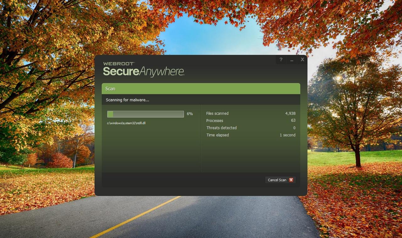 Webroot SecureAnywhere AntiVirus 1 Device GLOBAL Key PC 1 Year - 4