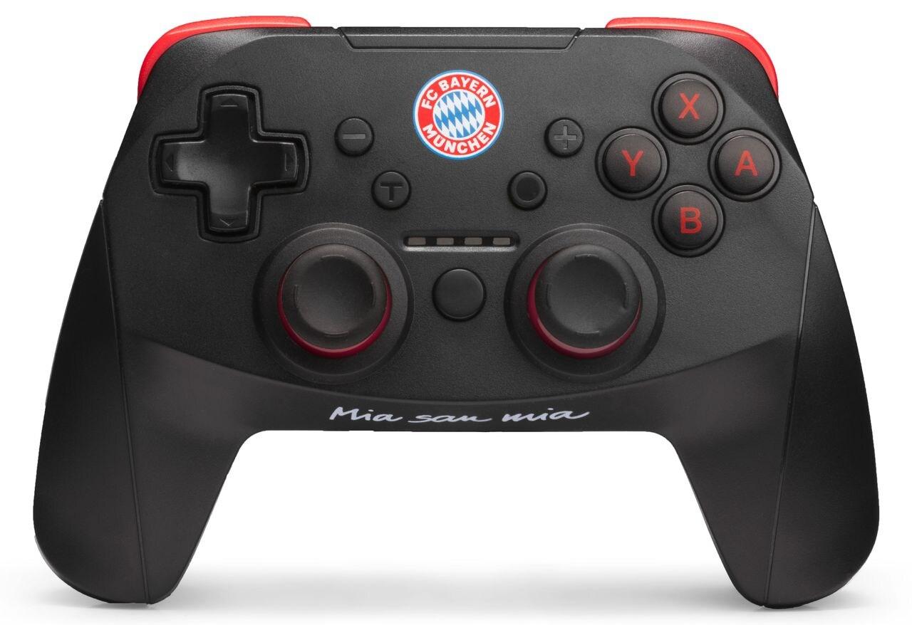 Snakebyte Wireless Pro-Controller Bayern München Nintendo Switch, Switch Lite Black - 2