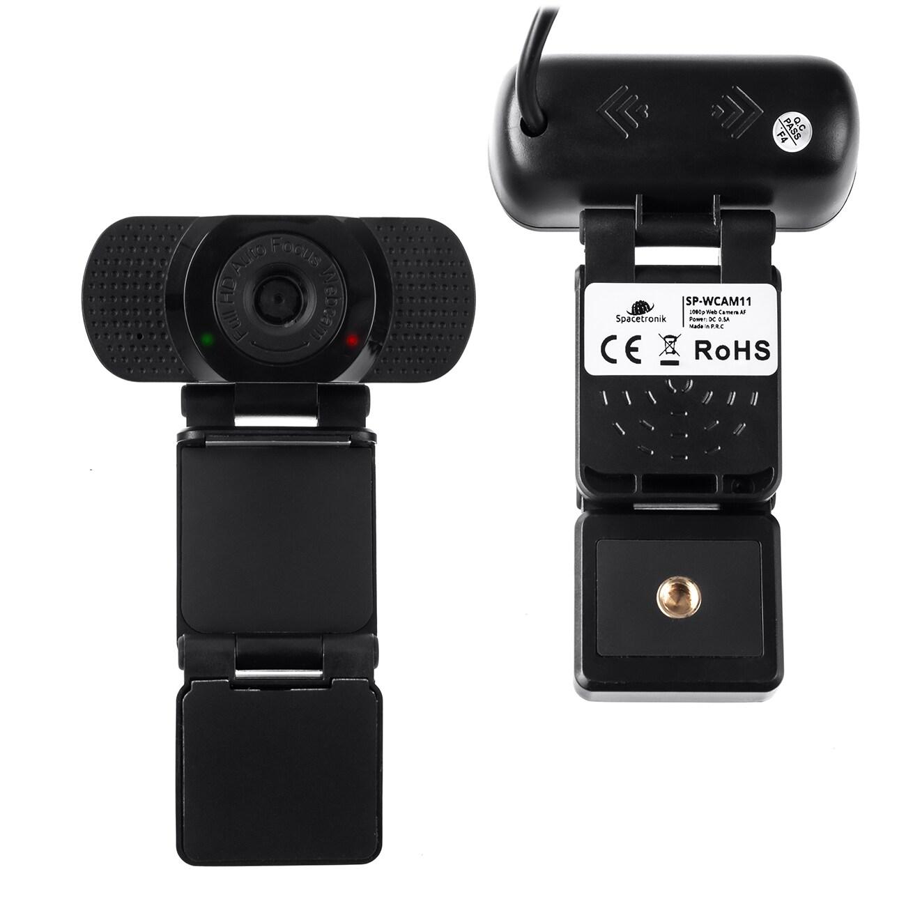 Gaming WebCam For Streaming USB FHD Microphone Camera Auto Focus SP-WCAM11 - 2