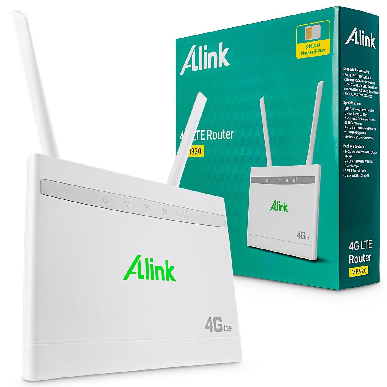 Router Alink MR920 4G LTE 300 Mbps LAN/WAN +anteny - 1