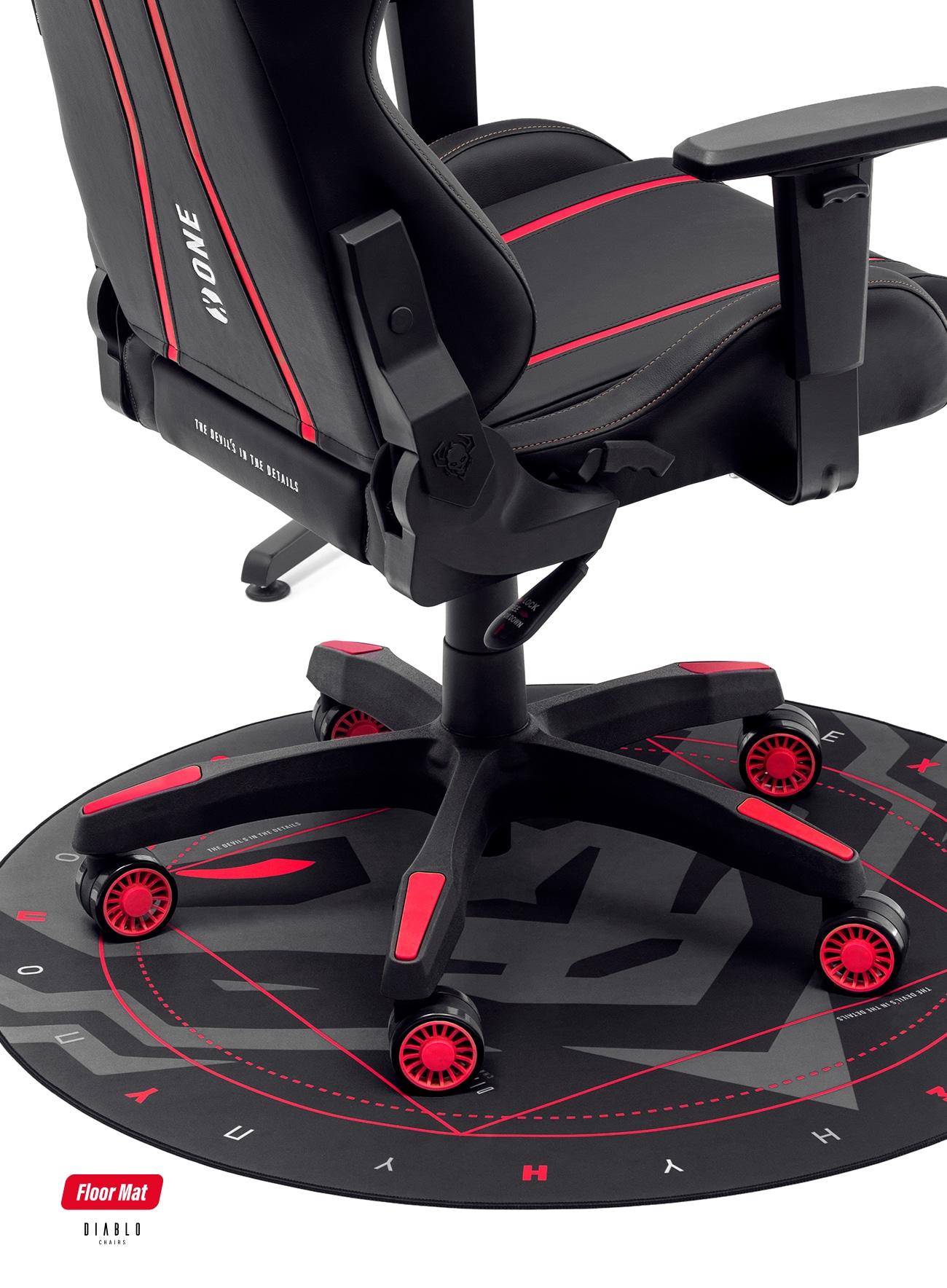 Diablo Chairs Floor Pad Gaming - 1