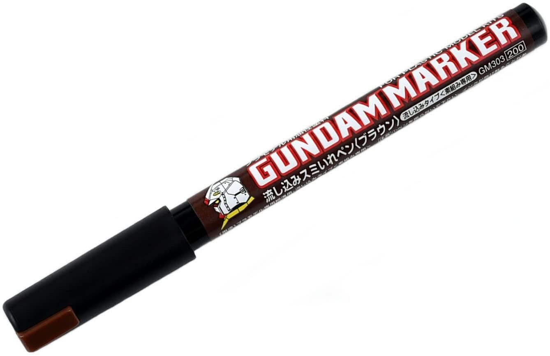 Mr. Hobby - Gundam Marker Pour Type - Brown - 1
