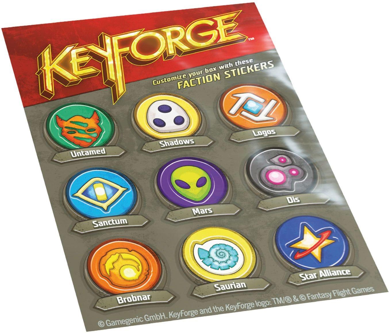 Pudełko na talię KeyForge - Aries Black Deck Box - Czarne - 10