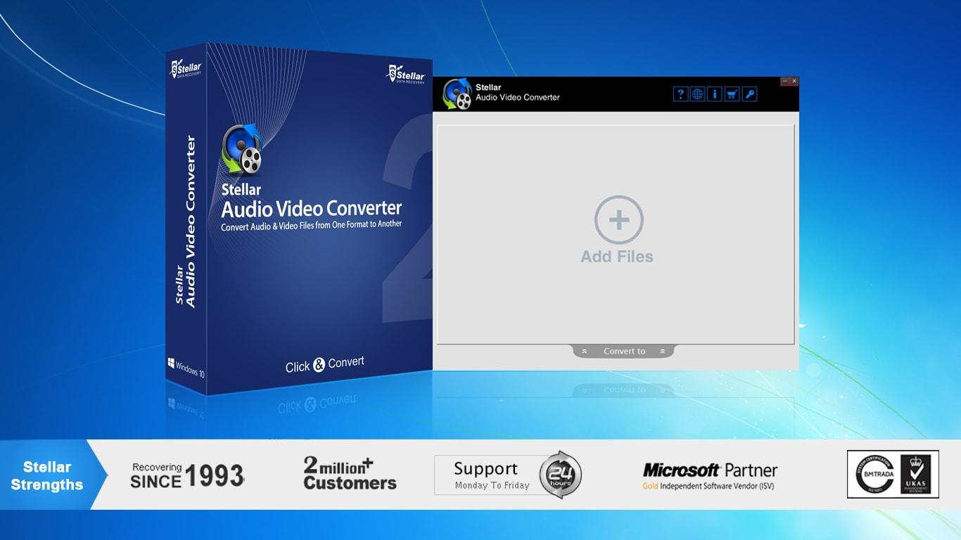 Stellar Audio Video Converter for Mac Key GLOBAL - 3