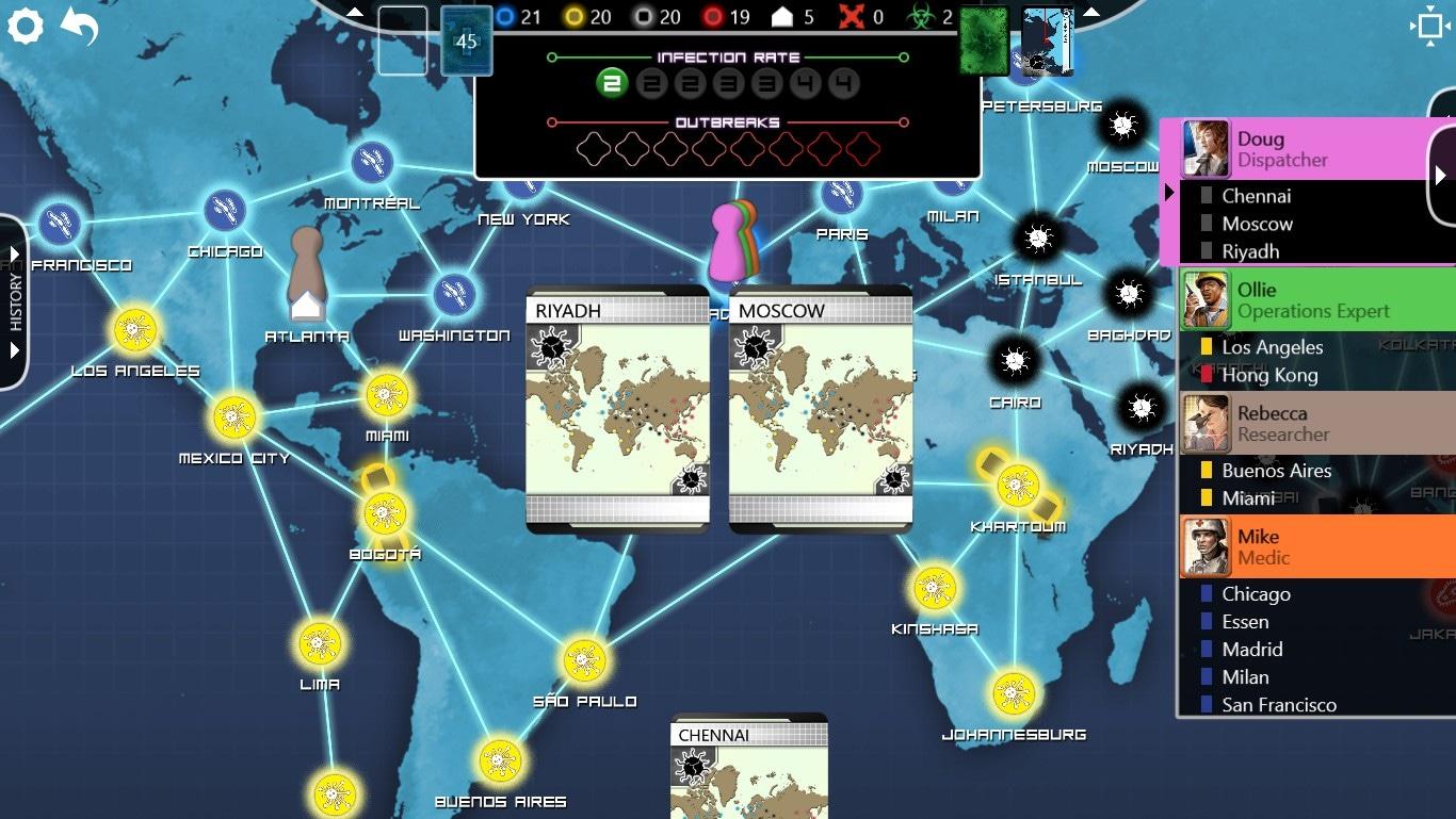 Pandemic: The Board Game Steam Key GLOBAL - 4