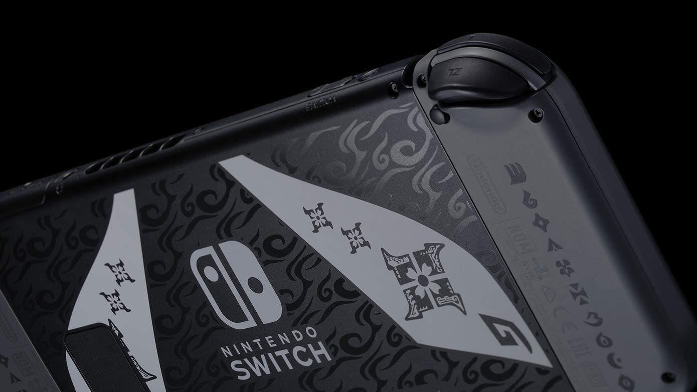Nintendo Switch V2 Monster Hunter Rise Edition Console Brand new Multi-Color 32 GB Standard - 4