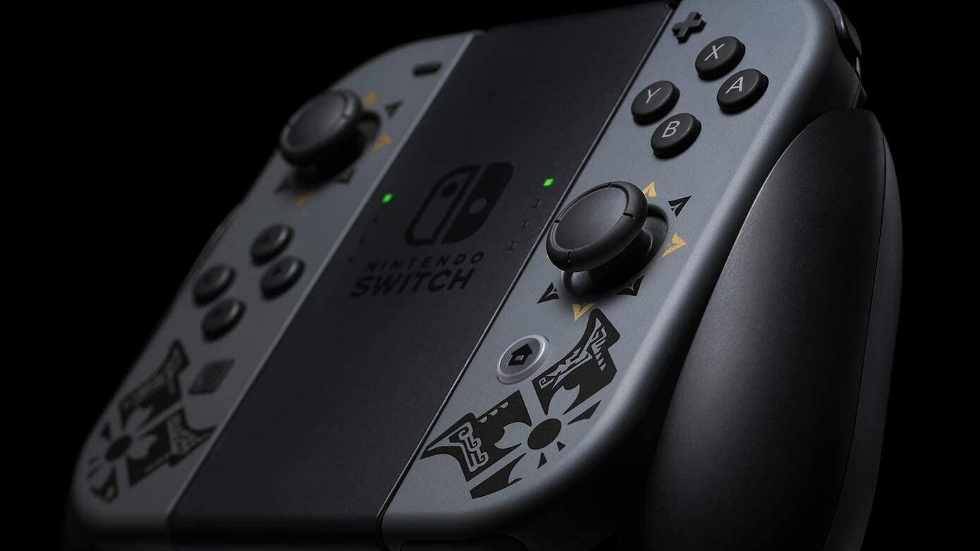 Nintendo Switch V2 Monster Hunter Rise Edition Console Brand new Multi-Color 32 GB Standard - 2