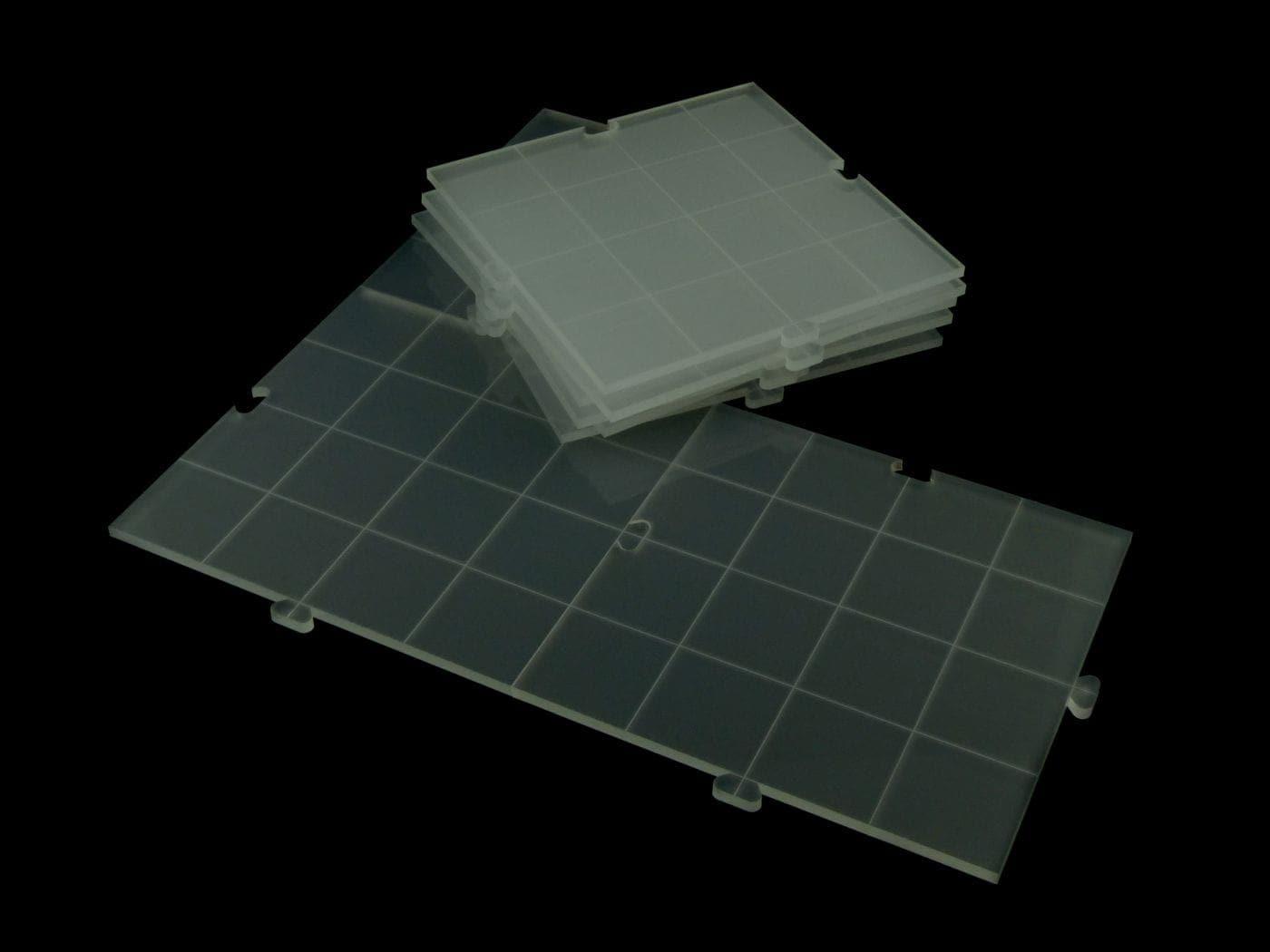 RPG dry erase acrylic modular board, semi-transparent - 1