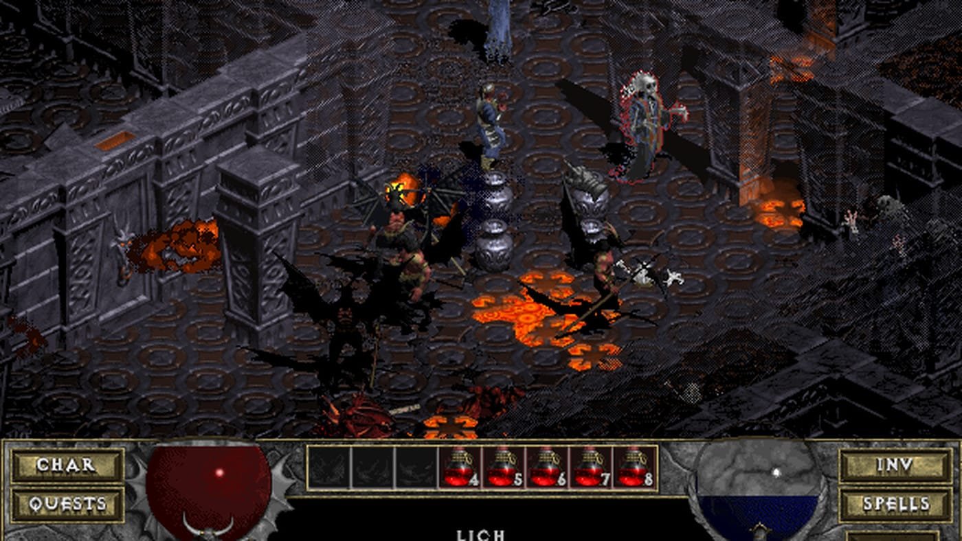 Diablo + Hellfire (PC) - GOG.COM Key - GLOBAL - 4