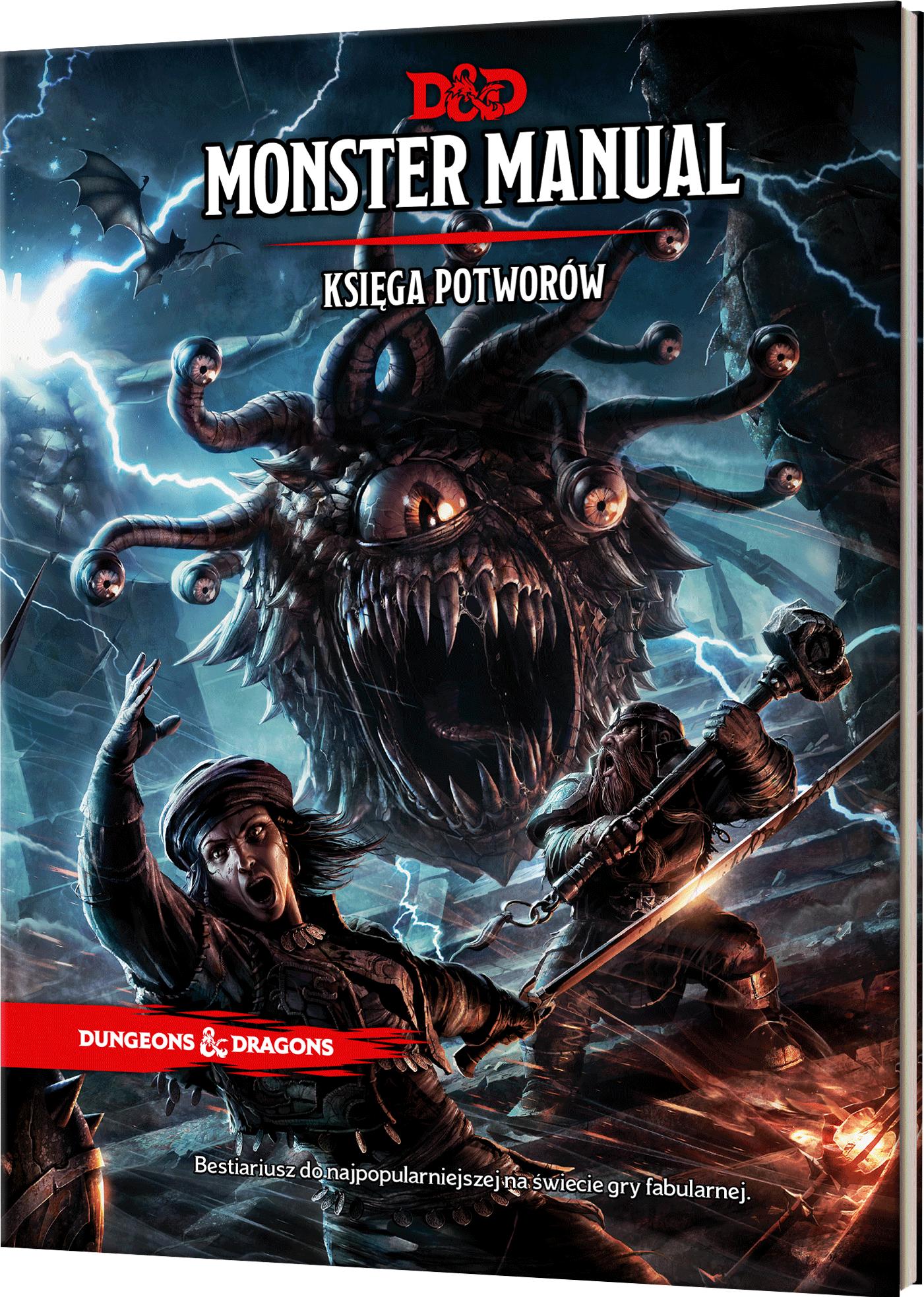 Dungeons & Dragons: Monster Manual (Księga Potworów) - 1