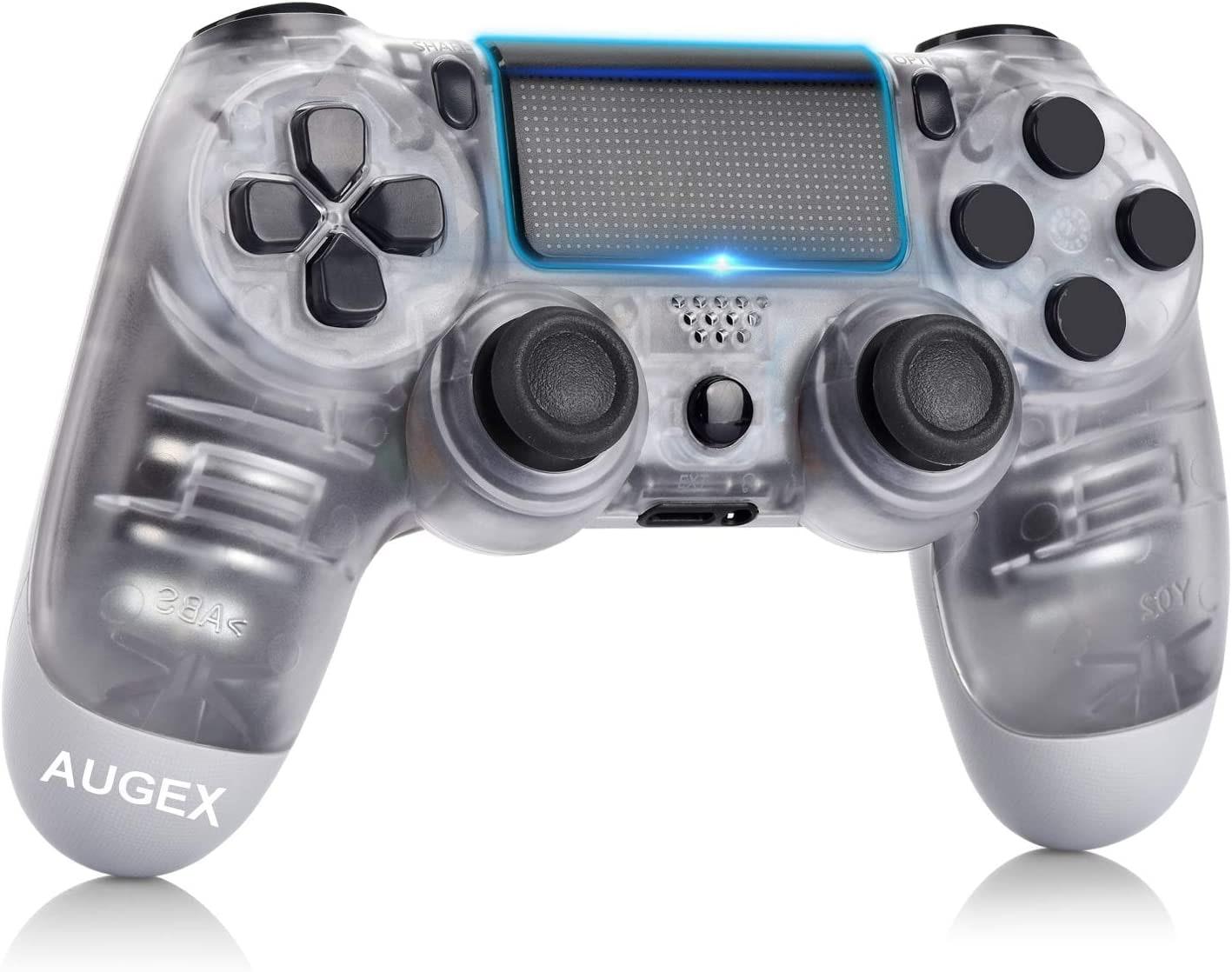 Newest PS4 Controller Dual Shock 4th Bluetooth Wireless Gamepad Joystick Remote Transparent - 1