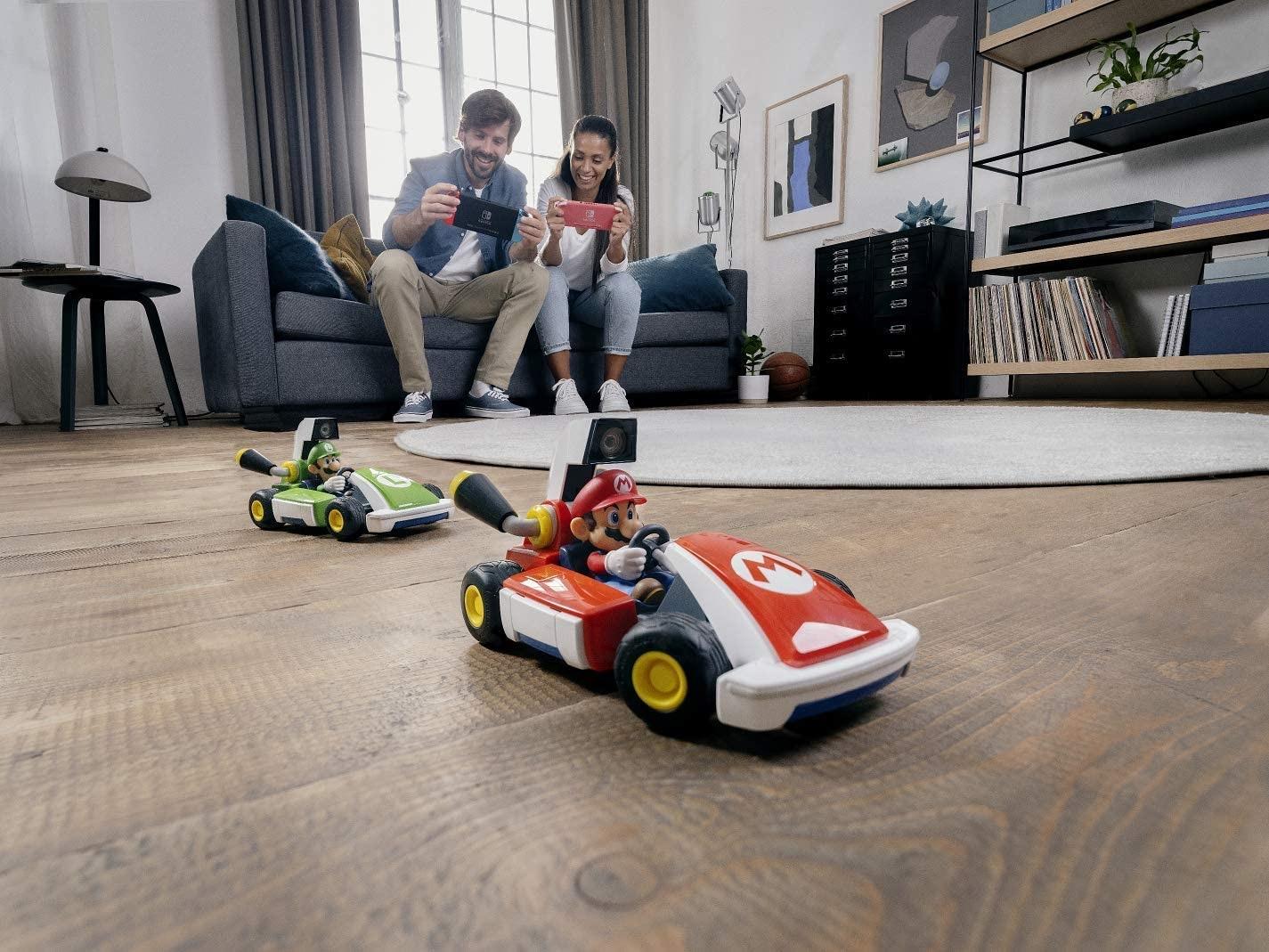Mario Kart Live: Home Circuit - Luigi Set Nintendo Switch Gaming - 3