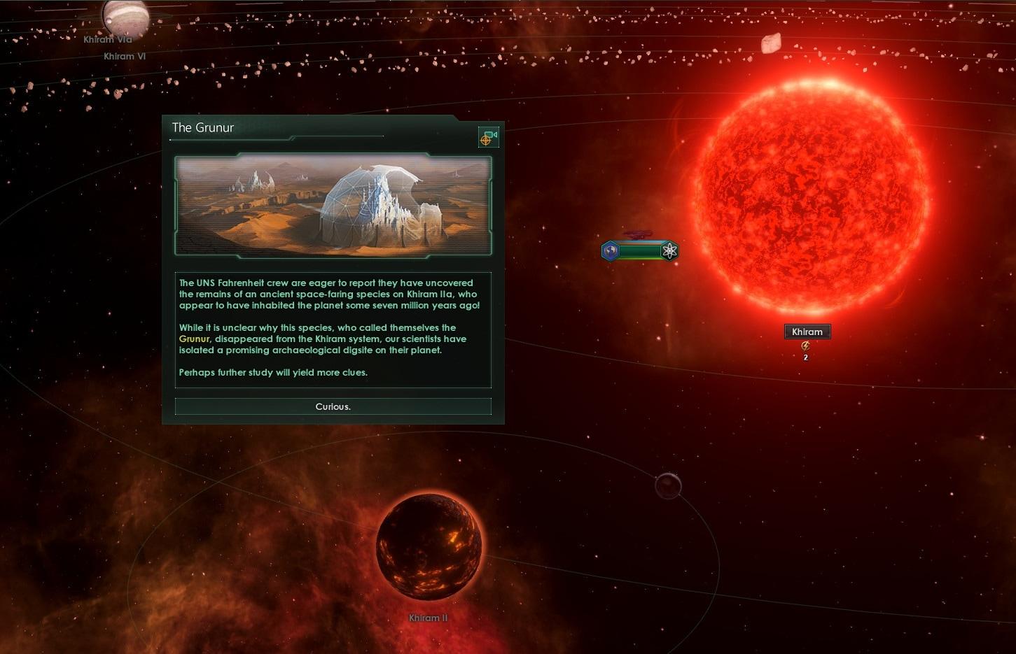 Stellaris: Ancient Relics Story Pack Steam Key GLOBAL - 1