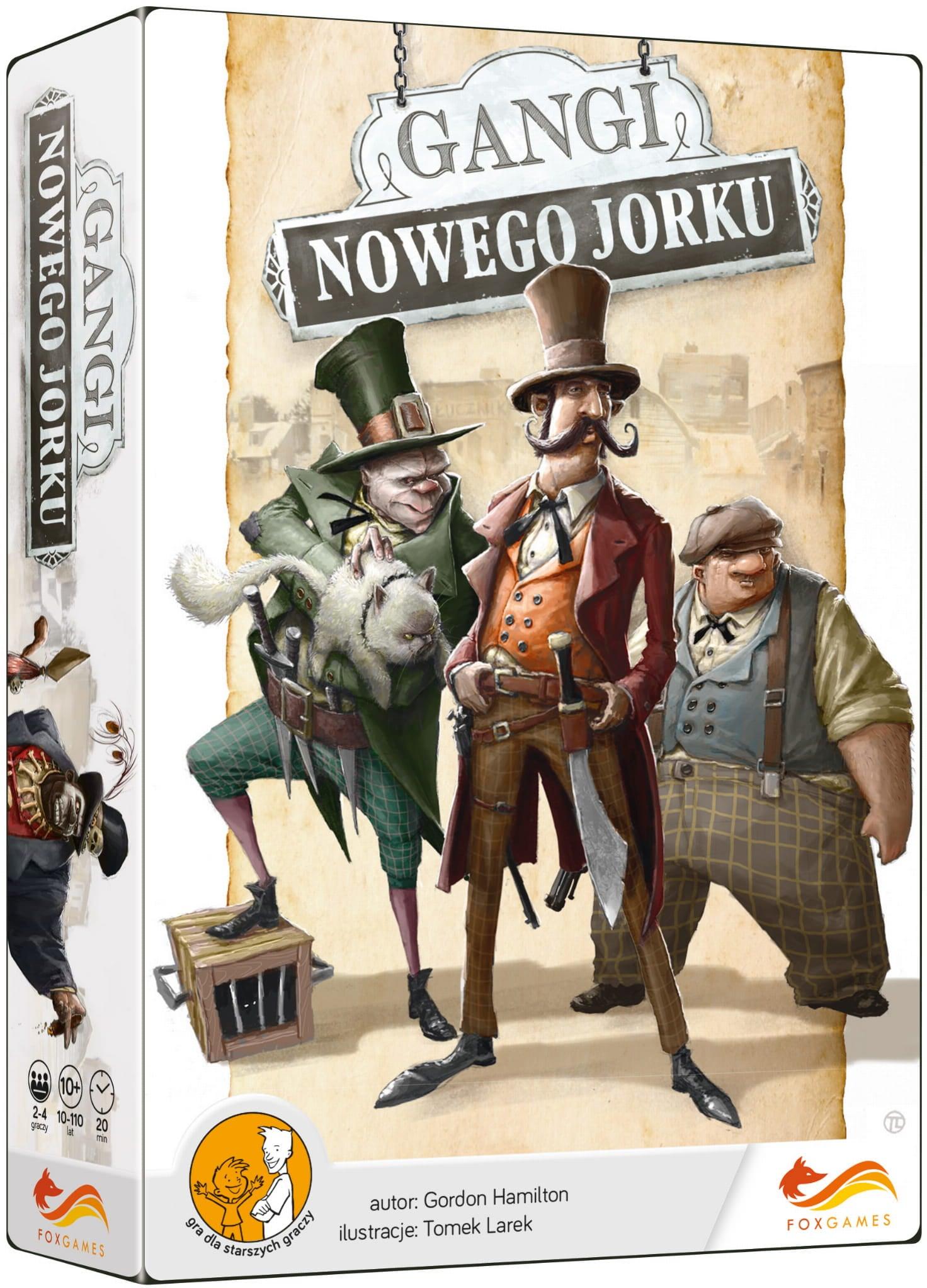 GANGI NOWEGO JORKU (OPRAWA MIĘKKA) - 1