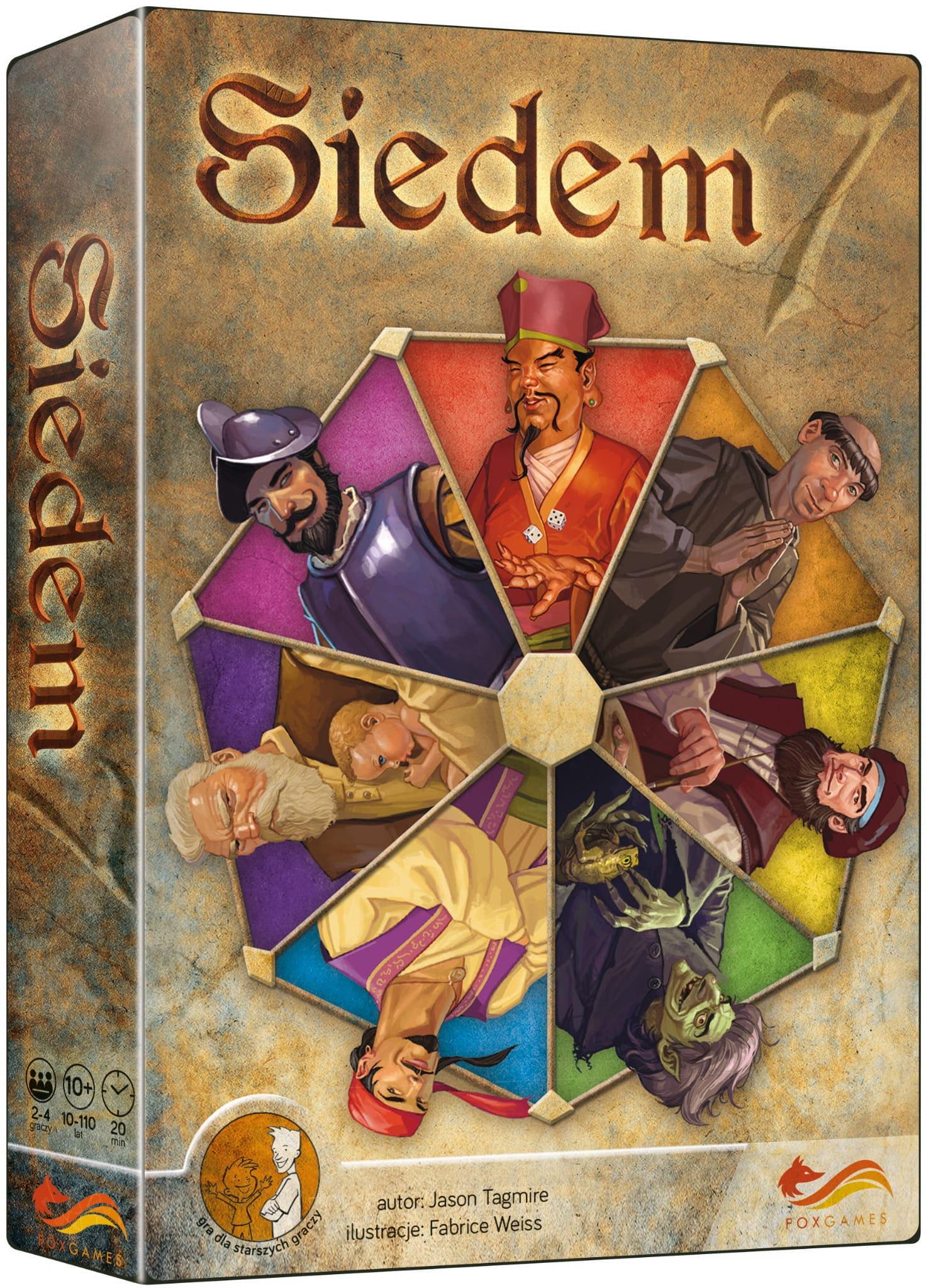 SIEDEM 7 (OPRAWA MIĘKKA) - 1