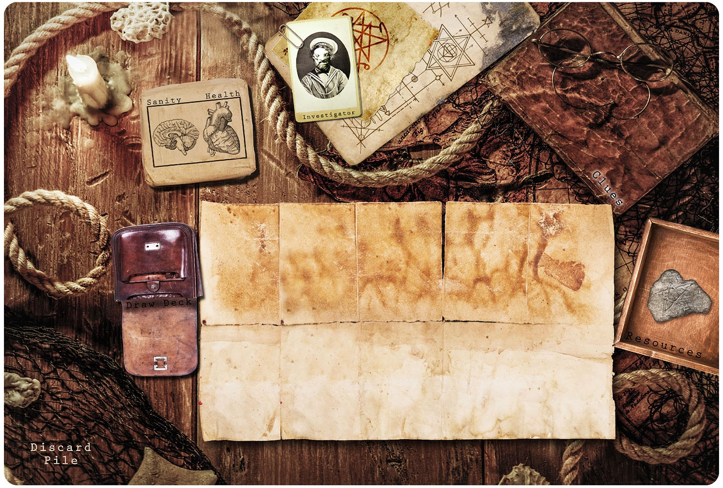 Game Mat for Arkham Horror: The Card Game - 1