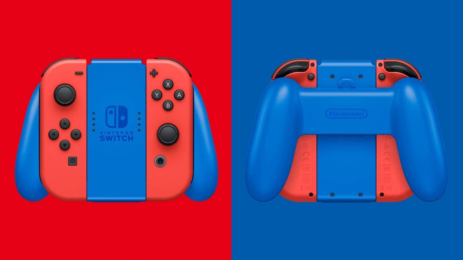 NINTENDO SWITCH CONSOLE - BLUE & RED MARIO 3D WORLDS & BOWSERS FURY EDITION Multi-Colored 32 GB Standard - 3