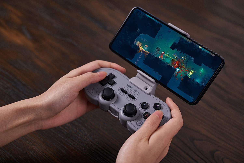 8Bitdo Sn30 Pro Bluetooth Gamepad (Gray Edition) - Nintendo Switch Gray - 2