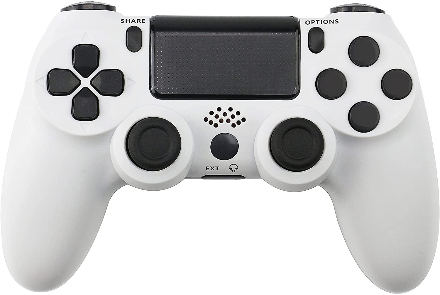 PS4 Controller Double Shock 4th Bluetooth Wireless Gamepad Joystick Remote Sunset White White - 1