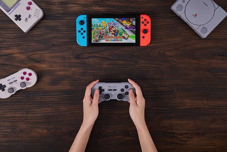 8Bitdo Sn30 Pro Bluetooth Gamepad (Gray Edition) - Nintendo Switch Gray - 3