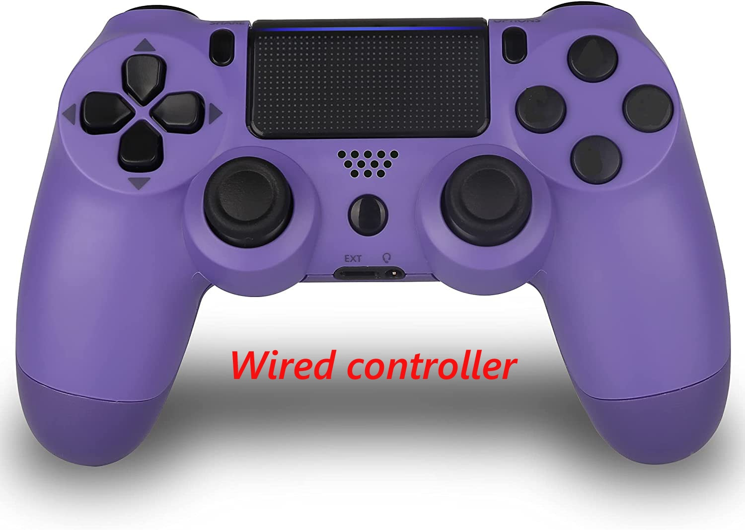 PS4 Wired Controller Dual Shock 4 Gamepad For Sony Playstation 4 Purple - 1