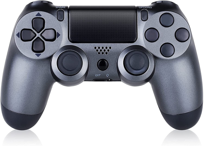 PS4 Controller Shock 4th Bluetooth Wireless Gamepad Joystick Remote Steel Black - 1