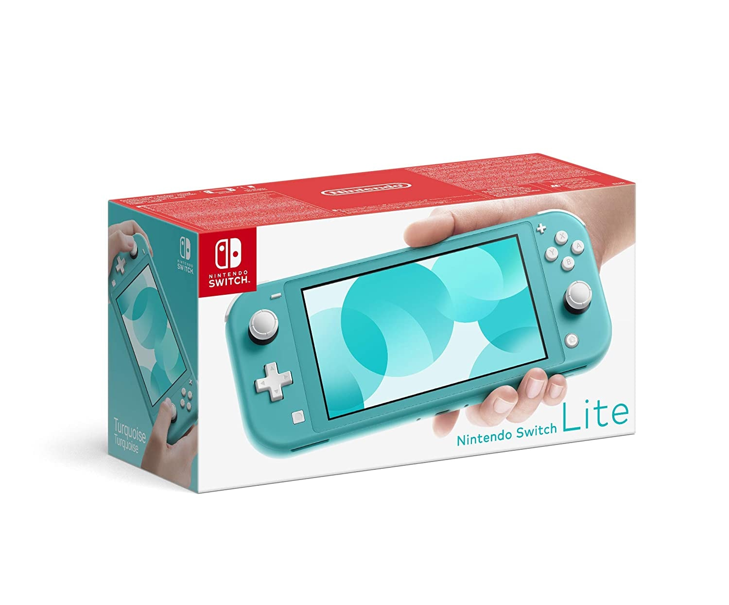 Nintendo Switch Lite 32GB System Handheld Video Game Console Device Tablet AC TESTED WORKING Light Blue - 1