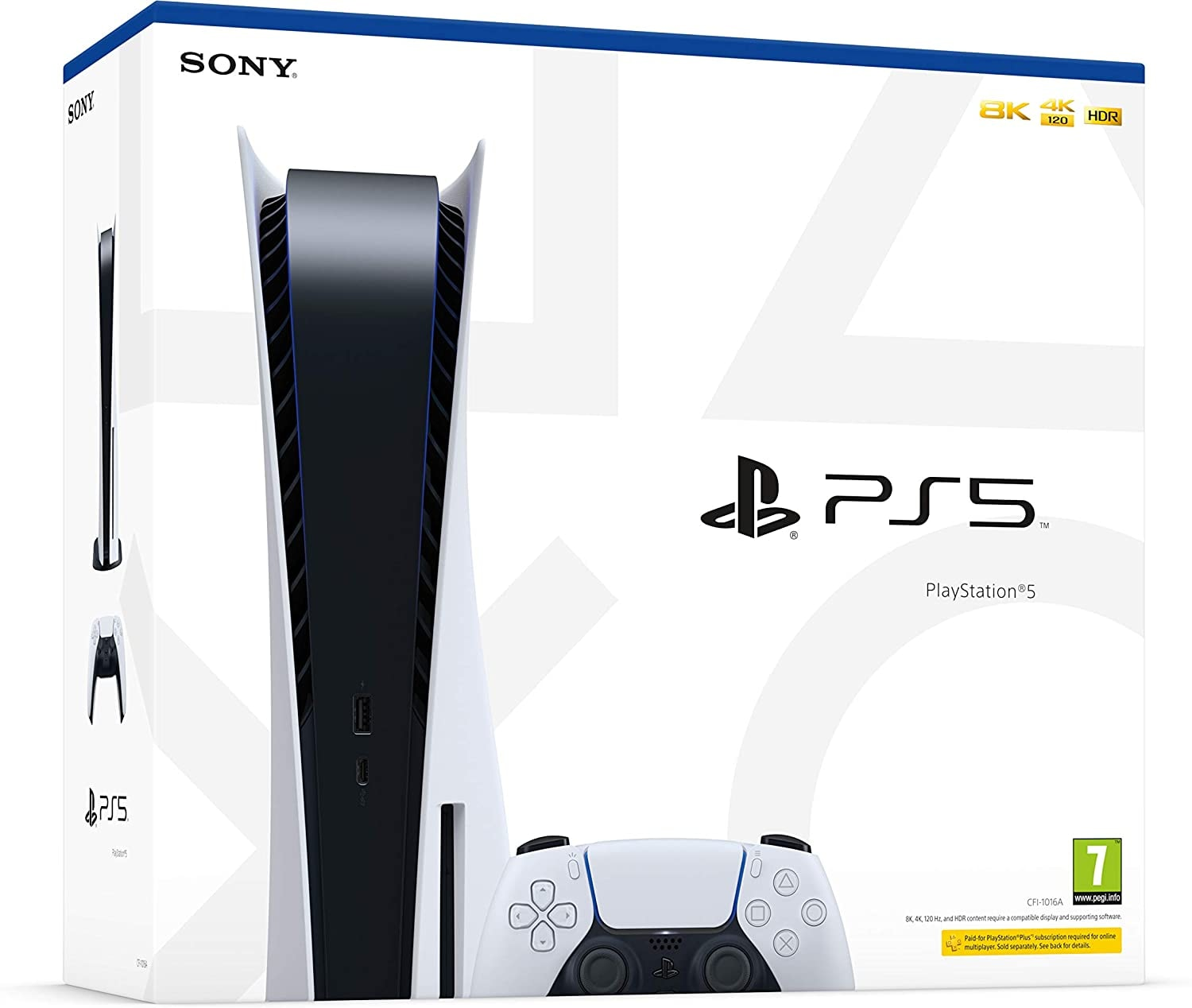 PlayStation 5 Console Brand new Sealed Disc Version White Standard - 1