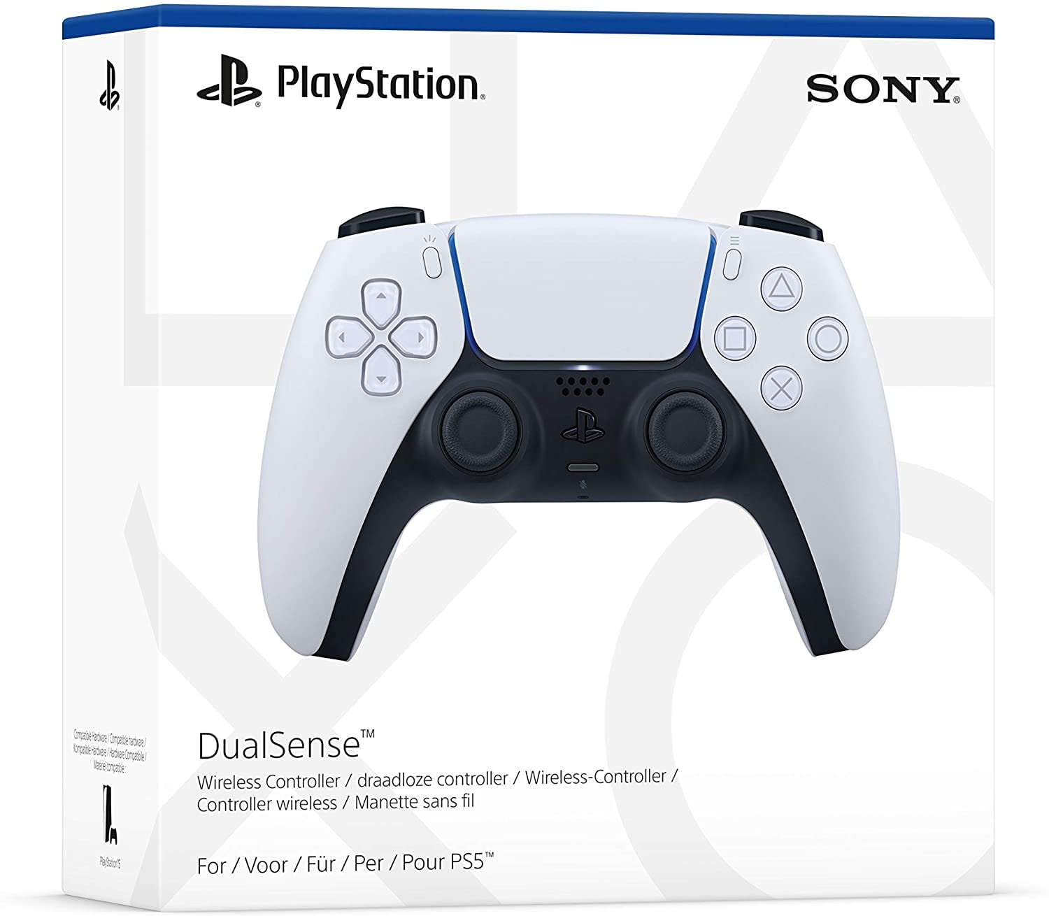 Sony PlayStation DualSense PS5 Controller White - 1