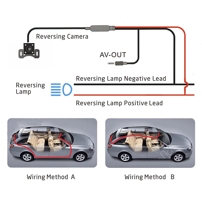 "4"" Vehicle 1080P Car Dashboard DVR Camera Video Recorder G-Sensor Dash Cam - 5"