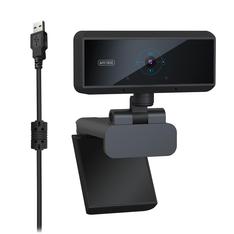 HD 1080P Webcam Built-in Microphone Auto Focus Web Camera - 2